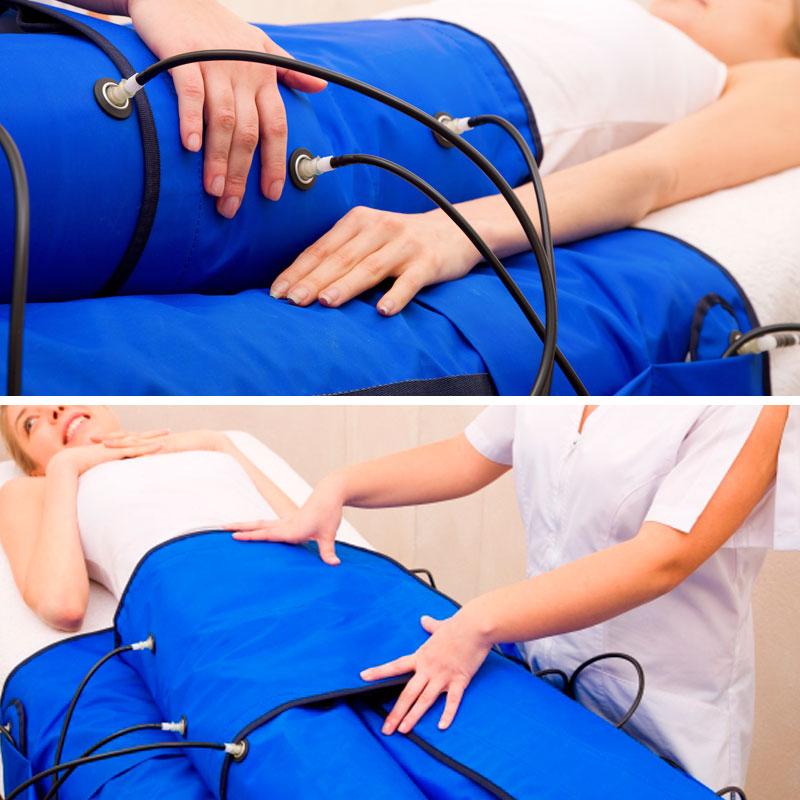 Promoción Presoterapia - Anayca - Centro de belleza y bienestar - Centro pilates Pili Gordo - Tratamientos de Estética Corporal